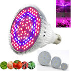 Full Spectrum E27 LED Plant Grow Light Growing Lamp Bulb For indoor Flower hydro