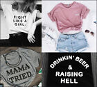 New Women Men Short sleeve T-shirts Cotton Funny Tshirts Tees Tops Gifts Present