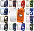 Apple iPhone 6 Plus 6s Plus 5.5 NFL Football Hard Dual Hybrid TPU Case Cover