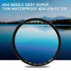 49/52/55/58/62/67/72/77MM ND4 Middle Gray Super Thin Waterproof ND4 Len FilterF5