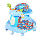 Baby Walker First Steps Walker With Sounds Lights Music Toy Foldable Walker New