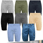 Mens Cargo Combat Shorts Summer Cotton Chino Pants Casual Designer New