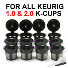 BRBHOM Refillable Reusable My K Cups Coffee Filter Pod for Keurig 20 10 Brewer