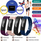 Smart Bracelet Watch Fitness Activity Tracker Wristband Calorie Counter Monitor