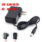 adapter 5v 1a - 12V 5V 0.5A 1A 2A AC DC Power Supply Adapter Switch For LED Strip light CCTV