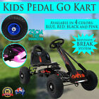 Kids Pedal Go Kart Vehicle Car Ride-On Toy w/ Breaks Treaded Tyres