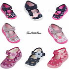 Kids baby toddler Girls canvas shoes slippers casual trainers sandals 3 4 5 6 78