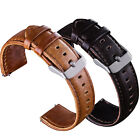 Quick Release Leather Watch Band Wrist Strap 22mm For Fossil Q Founder Gen 1 / 2 image