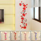 3d Rose Flower Removable Wall Vinyl Decal Art Home Decor Wall Sticker + 5 Colors