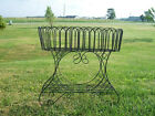 """33"""" Country Style Fern Stand Wrought Iron Urn Planter"""