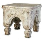 Bedford Outdoor Stool, Durable Fiberstone 10 Finishes, Statues & Planters