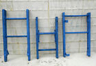 Brightly Colored Wildflower Blue Rustic Antique 2 Rung Ladder