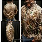 $140 NWT~LICENSED NFL GREENBAY PACKERS REALTREE CAMO SOFTSHELL JACKET~M MEDIUM