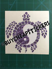 Yin Yang Sea Turtle - Purple Camo