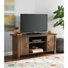 TV Stand Cabinet Storage Entertainment Media Flat Screen 47 in. Wood Furniture