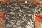 NEW REDHEAD  Men's Camo T- Shirt ( Brown Camo Large ) Short Sleeve