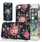 For Apple iPhone 8 Plus Flower Case for Girls Women, Floral
