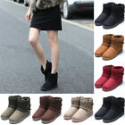 winter fashion for ladies - Fashion Flat Grip Sole Winter Keep Warm Lined Ankle Boots Shoes For Ladies Women