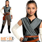 Rey Girls Fancy Dress Disney Star Wars The Last Jedi Kids Childrens Costume New