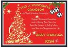 Personalized Tottenham Hotspur Inspired Christmas Card (2 Designs) - Gorgeous !
