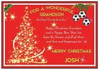 Personalized Sunderland Inspired Christmas Card (2 Designs) - Gorgeous !