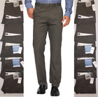 Dockers Easy Khaki Slim Fit Flat-Front Pants Sizes 31,32,34 Frontier Brown 40009
