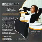 Highliving® Orthopedic Memory Foam Lumbar Support Cushion Backache Posture