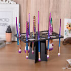 28 Hole Acrylic Comestic Brush Shelf Health Clean and Tidy Dryer Makeup Rack