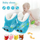 New Baby Cartoon Thickened Toddler Cotton Shoes Warm Keeping Feet Cover Winter