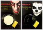 Black or White Face Paint With Sponge Halloween Costume Party Base Make Up