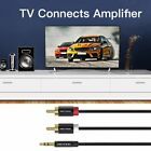 Vention 3.5mm Male To 2RCA Male Audio Cable Headphone Aux Jack Splitter Cable OE