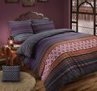 Aztec Multi Duvet Cover Set Reversible Bedding Set