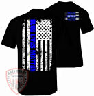 Blue Lives Matter Shirt Thin Blue Line T-Shirt NYPD Flag Decal Apparel