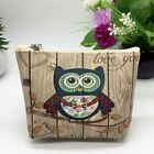 Love You To The Moon Purse Owl Coin Pouch Money Bag Wallet Clutch