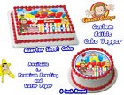 Curious George Edible Image Sheets Cake Toppers