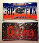 UF University Florida Gators Metal Car Truck Auto Tag License Plate NCAA