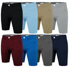 Mens Chino Shorts Summer Cotton Stallion Roll Up Half Pant Casual Designer New
