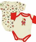 BabyPrem CHRISTMAS Baby Clothes Boys Girls 2 Pack Bodysuits Vests One Pieces
