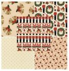 "Nutcracker 100% Cotton Christmas Themed Patchwork fabric 44"" Wide M560 Mtex"