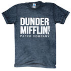 DUNDER MIFFLIN INC. T-SHIRT ACID-WASH HIGHEST QUALITY ASSORTED COLORS SIZE S-3XL image