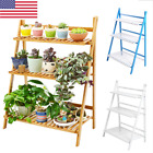 3 Tier Flower Pot Plant Stand Flower Planter Rack Shelf Shelves Organizer Garden