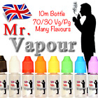 MR VAPOUR Dr PEPPER E-Liquid Vape Juice 10ml in 0mg,3mg,6mg,12mg&18mg Nicotine