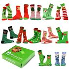 TeeHee Christmas Holiday 12-Pack Gift Socks for Women with Gift Box