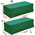 New Green Outdoor Waterproof Patio Furniture Set Cover Table Bench Cube Garden