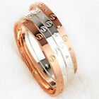 Love Bangle Cartier Inspired - Silver/Rose Gold/18k Gold Plated Titanium Bangle <br/> Love Bracelet - Perfect Match for Michael Kors watch