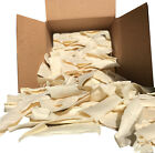 Natural Rawhide Chips for Dogs | Bulk Beef Hide Dog Chews by