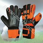 RINAT GOALKEEPER GLOVES SUPREME 2.0 SPINE 5 FINGER SAVE (ORANGE/BLACK) (133-223)
