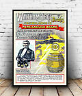 Waltham Brothers : old Beer advertising , Reproduction poster, Wall art.