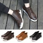Newest Men's Casual Shoes Stylish High Top Shoes Male Outdoor Leisure Trainers