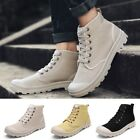 Hot Men Casual Shoes Vintage High Top Male Soft Shoes Wear-resistant Ankle Boots
